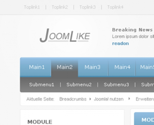 Joomlike coming soon!